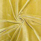 Stretch Velvet Fabric 60 Wide By The Yard For Sewing Apparel Costumes Craft