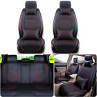 Universal Car Seat Cover Cushion Protector For 5-seat Sedan Frontrear Full Set