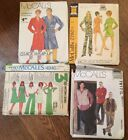 You Pick Uncut Mccalls Misses Ladies Womens Mens Patterns U Pick Some Vintage