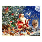 Full Drill Santa Claus Diy 5d Diamond Painting Cross Stitch Kits Home Christmas