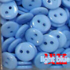 2-hole Flat Round Resin Sewing Buttons Sets Mixed Candy Colors For Sewing Crafts