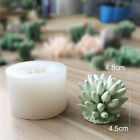 3d Succulent Cacti Cactus Plant Shap Silicone Candle Mold Soap Diy Crafts Molds