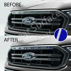 Front Hood Grille Insert Inlay Decal Letters 2019 Ford Ranger - Gloss