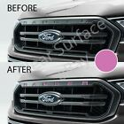Front Hood Grille Insert Inlay Decal Letters 2019 Ford Ranger - Flat Matte