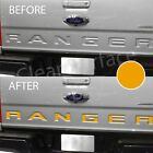 Tailgate Insert Inlay Decal Letters 2019 2020 Ford Ranger - Flat Matte