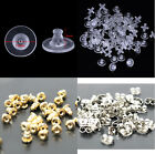 Earring Backs Clutch Push Back Stoppers Earring Backs In Metal Or Silicone