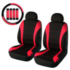 Universal Car Seat Covers Front Auto Seat Cover Head Rest Cover Set Seat Cover