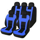 Washable Auto Car Seat Cover Front Rear Covers Protector Head Rest For Truck Suv