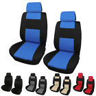 Universal Car Front Back Seat Covers Wsteering Wheel Cover And Belt Pads Set