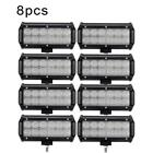 30pcs 7 Inch Led Work Light Bar Flood Offroad For Chevrolet Jeep Cherokee Xj Atv