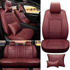 Car Seat Cover Set For 2013-2018 Ram 1500 2500 3500 5 Seat Pu Leather Luxury