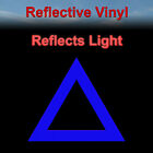 Reflective Triangle Safety Sticker - Symbol Yield Decal