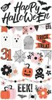 Happy Haunting Chipboard Stickers 6x12-
