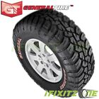 1 General Grabber X3 Lt30555r20 121118q 10-ply Red Letter Jeep Truck Mud Tires