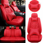 Universal Top Pu Leather Car Seat Cover Luxury 5-sit Frontrear Car Suv Interior