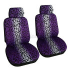 Auto Seat Covers For Car Truck Suv Van - Universal Protectors Polyester 4 Colors