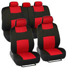 Car Seat Covers For Auto Suv Truck 9pcs Front Rear 5 Colors - Economy Standard
