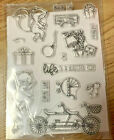 Clear Stamps With Dies Unbranded Nwop