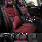 Deluxe Leather Full Set Auto Car Seat Cover 5 Seat Universal Interior Accessory