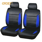 2 Front Car Seat Cover Set Waterproof Leather Universal For Most Car Suv Truck