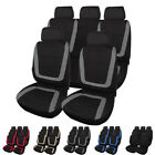Universal Car Seat Cover Full Front Rear Seat Protection For Auto Truck Suv