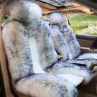 One Piece Genuine Sheepskin Car Seat Covers Real Fur Fits Most Cars