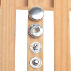 1012.51517mm Press Studs Snap Fasteners Poppers Sewing Clothing Buttons Craft