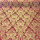 Damask Jacquard Brocade Flower Floral Fabric 118 By The Yard - Many Colors
