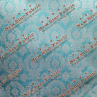 Taffeta Damask Velvet Flocking Fabric 5860 Wide By The Yard Home Decor