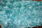 Rosette Satin Fabric 3-dimensional 5254wide By The Yard Home Decor