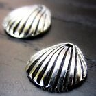 Seashell Wholesale Silver Plated Pendant Charm Findings C4191 - 10 20 Or 50pcs
