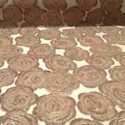 Metallic Floral Jacquard Fabric 60 Sold By The Yard In Many Colors