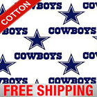 Dallas Cowboys Nfl Cotton Fabric - 60 Wide - Style 6040 - Free Shipping