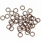 Brown Jump Rings 6mm - 50100200 Wholesale Iron Findings For Jewelry Making
