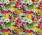 Floral Pattern Dressmaking Cotton Fasbric Crafting 42 Inch Supply By The Yard