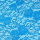 Stretch Lace Fabric Floral Embroidery Poly Spandex 58 Wide Bty Apparel Victoria