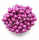 4mm 6mm 8mm 10mm Metallic Glitter Acrylic Stardust Round Diy Spacer Loose Beads