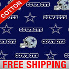 Dallas Cowboys Nfl Cotton Fabric - 60 Wide - Style 6313 - Free Shipping