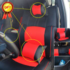 Full Set Car Seat Cover 5-seats Pu Leather Kit For Dodge Ram 1500 2500 2009-2018