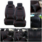 Pu Leather Car Suv Seat Covers 5-seats Frontrear Auto Cushion Mess F Size Lms