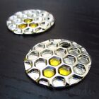 Honeycomb Charms - 25mm Wholesale Gold Plated Pendants C1389 - 2 5 Or 10pcs