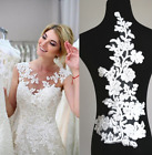 Lace Applique Bodice Embroided Diy Motif Bridal Lace Trims For Wedding Gown