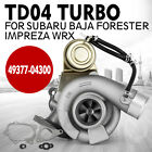 Set Td04l For Subaru Forester Impreza Wrx-nb Turbo Charger 49377-04300 Great