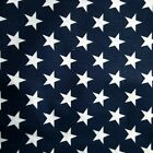 Patriotic Stars American Star Print Poly Cotton Fabric 60 By The Yard 4 Colors