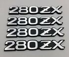 Datsun Silver 280zx Front Fender Emblem Badge Decals For Nissan Fairlady-z S130