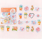 Floral Design Diy Paper Sticky Adhesive Sticker Decorative Washi Tape 15mm7m