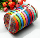1020yards 38 Mixed 10 Style Sewing Satin Grosgrain Ribbon Lot Wholesale A-33