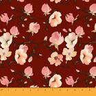 Soimoi Fabric Apple Blossom Watercolor Fabric Prints By Yard -wc-517d