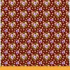 Soimoi Fabric Blooming Camellias Rose Floral Print Fabric By Yard -fl-695a