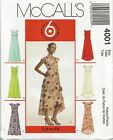 2003 Summer Dress Sewing Pattern Size Choice 8-22 Mccalls 4001 Oop